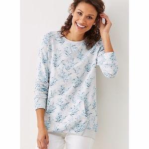 J. Jill - Printed Elliptical Sweatshirt - NWT